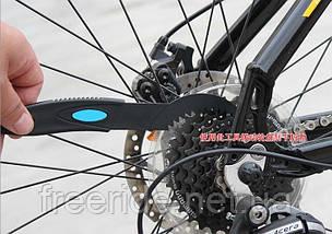 Щітки для чищення велосипедного ланцюга, зірочок, фото 3