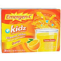 Emergen-C, для детей 30 пакетиков, 9,9 унций (282 гр)