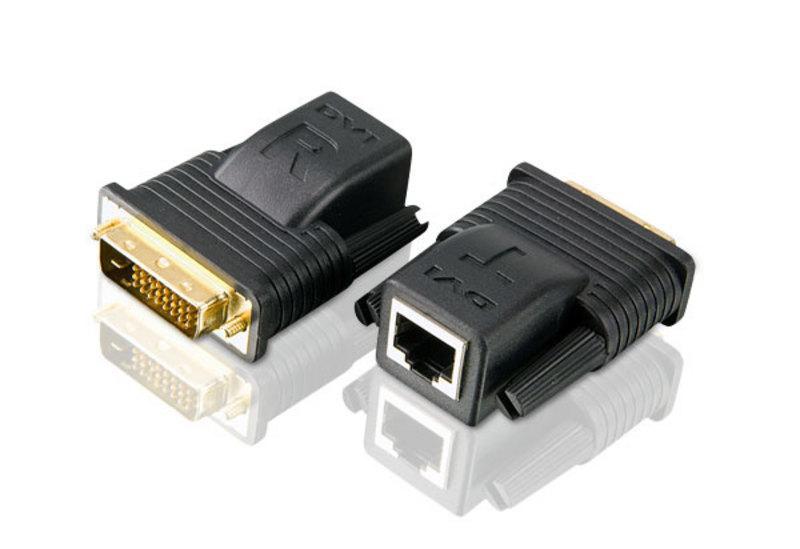 VE066 DVI удлинитель / усилитель видеосигнала, растояние до 20м (до 15м для 1080p; до 15м для 1600 x 1200; до