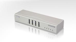 VS-0404 Видео + Аудио переключатель 4 входа на 4 выхода