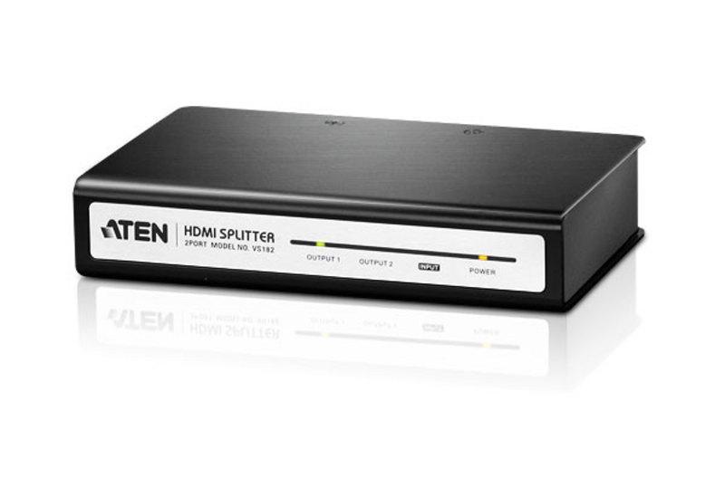 VS-182 2-портовый HDMI каскадируемый видео / аудио разветвитель