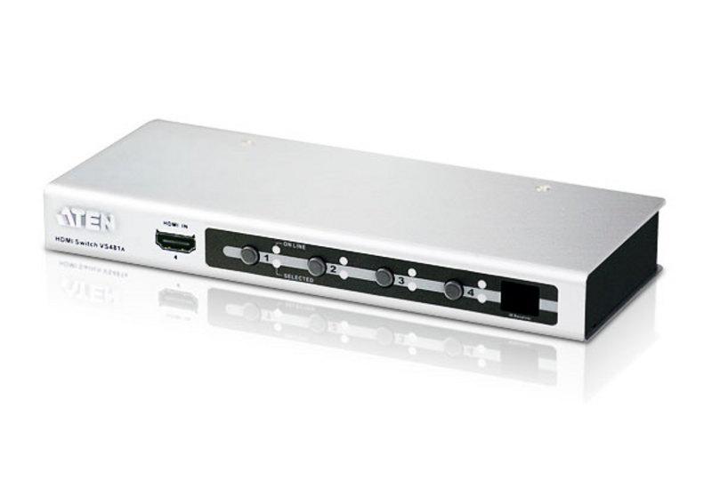 VS481A 4-портовый переключатель HDMI