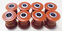 Комплект полиуретановых сайлентблоков задних поперечных рычагов Geely CK