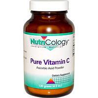 Nutricology, Чистый витамин C, порошок, 4,2 унции (120 г)