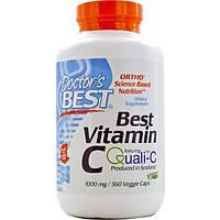 Doctors Best, Витамин С (Best Vitamin C), 1000 мг, 360 растительных капсул