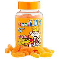 Gummi King, Витамин C для детей с натуральным апельсиновым вкусом , 60 жевательных витаминов
