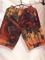 Шорты мужские оранжевый 13004 идут на наши размеры  44 46  44