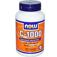 Now Foods, C-1000, 100 капсул