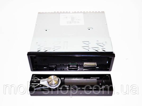 Автомагнитола качественная удобная Pioneer 3227 съемная передняя панель