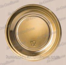Поднос круглый золотой «Mini Gold» (9 см)