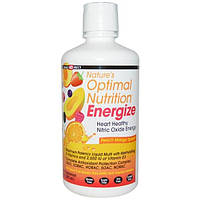 Health Direct, Оптимальное природное питание, наполняет энергией, взрыв манго и персика, 30 жидких унций (887 мл)