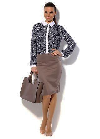 Классическая юбка-карандаш в офис