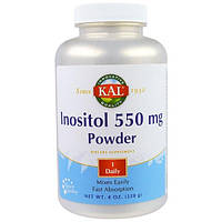 KAL, Инозитол, 550 мг порошок, 8 унций(228 г)