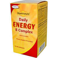 Enzymatic Therapy, Фантастическая усталость, ежедневная энергия комплекса витаминов B, 120 растительных капсул