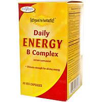 Enzymatic Therapy, Конец усталости!, комплекс восстановления энергии с витаминами B для ежедневного приема, 30 растительных капсул