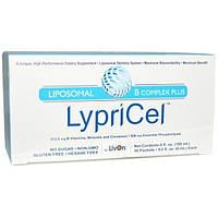 LypriCel, Липосомальный В комплекс плюс, 30 пакетов, 0,2 жидких унций (6 мл) каждый
