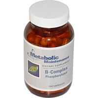 Metabolic Maintenance, Фосфорилированный комплекс витамина B, 100 капсул