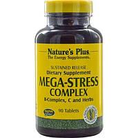 Natures Plus, Мега-стрессовый комплекс, 90 таблеток