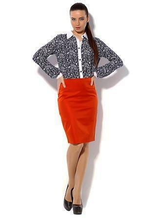 Женская классическая юбка-карандаш