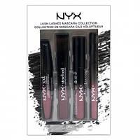 Набор туши для ресниц - NYX 4pcs Lush Mascara Set