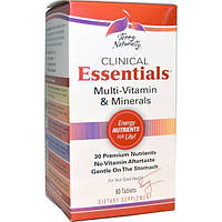 EuroPharma, Terry Naturally, Terry Naturally, Clinical Essentials, комплекс мультивитаминов и минералов, 60 таблеток