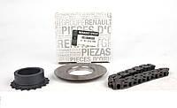 Комплект (цепь+шестерня) насоса масляного Renault Master 2.5dci 01-