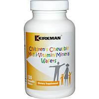 Витамины и минералы для детей Kirkman Labs 120 жевательных таблеток
