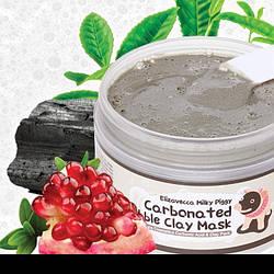 Маска для лица глиняно-пузырьковая - Elizavecca Face Care Milky Piggy Carbonated Bubble Clay Mask