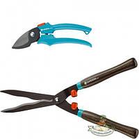 Ножницы для живой изгороди 540 FSC Classic (00391-29) и секатор Gardena Classic (08754-20)