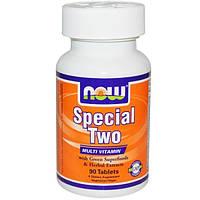 Now Foods, Special Two, мультивитамины, 90 таблеток