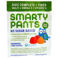 SmartyPants, Kids Complete + Fiber, 15 Packs, 0.42 oz (12 g) Per Pack