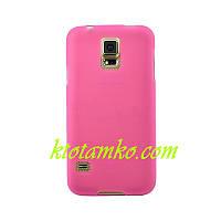 Чехол Smart Silicase Samsung G920 (S6) Pink