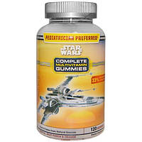 Star Wars, Жевательный мультивитаминный комплекс, с тропическим вкусом, фруктовый пунш и апельсин, 120 жевательных таблеток
