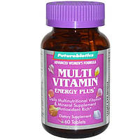 FutureBiotics, Мультивитамины Energy Plus для женщин, 60 таблеток