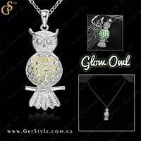 """Украшение Сова - """"Glow Owl"""" - светится в темноте!"""