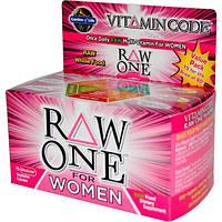 Garden of Life, Чистые витамины для женщин, 75 ультраабсорбирующихся капсул на растительной основе