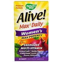 Natures Way, Alive, Mаксимальная женская сила, 90 таблеток