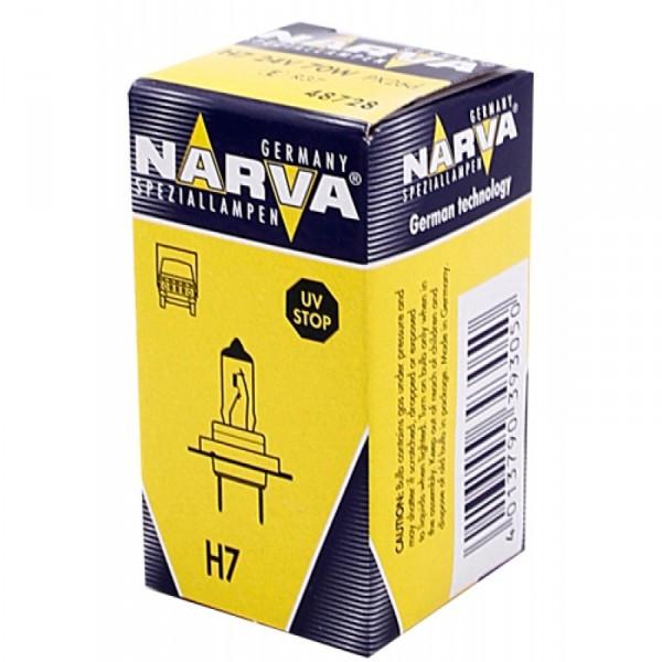 Автомобильная лампа Narva H7 24V 48728