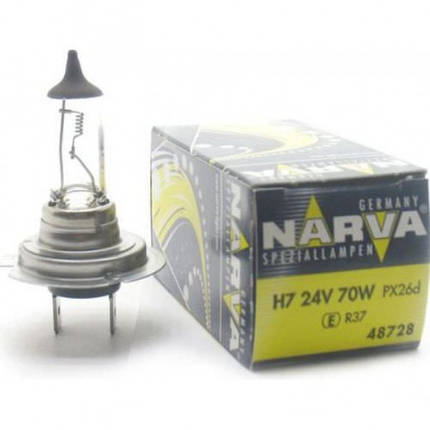 Автомобильная лампа Narva H7 24V 48728, фото 2