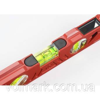 Карманный 25-сантиметровый уровень в литом алюминиевом корпусе, фото 2