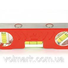 Карманный 25-сантиметровый уровень в литом алюминиевом корпусе, фото 3