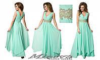 Вечернее платье в пол Клеопатра (размеры 48-52)