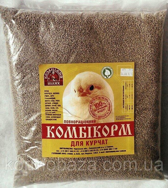 Комбикорм для цыплят кур Козацький Шлях 2-6 (1-8 неделя)