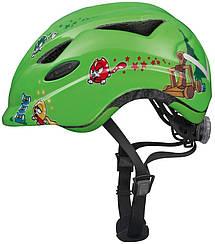 Велошлем  детский ABUS ANUKY Green Catapult (S)