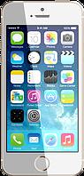 """Китайский iPhone 5S (H5), дисплей 4"""", Wi-Fi, 2 SIM, ТВ. 100% качество! Золотистый"""