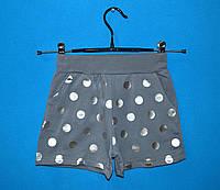 Детские трикотажные шорты для девочки 9-13 лет, Детские летние шорты