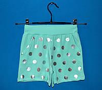 Детские трикотажные шорты для девочки 9-13 лет, Шорты детские оптом
