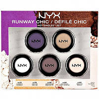 Набор теней - NYX Hot Singles 5pc Runway Chic Set