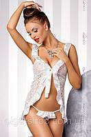 Сексуальный комплект беби-долл - сорочка пеньюар и стринги Casmir (эротическое женское нижнее белье), фото 1