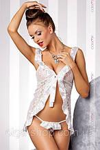 Сексуальный комплект беби-долл - сорочка пеньюар и стринги Casmir (эротическое женское нижнее белье)